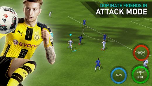 FIFA足球手机版中文版v2.2.2截图2