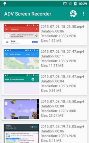 ADV屏幕录制安卓版V2.1.0官方版截图0