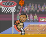 大�^�@球�Big head the basketball game