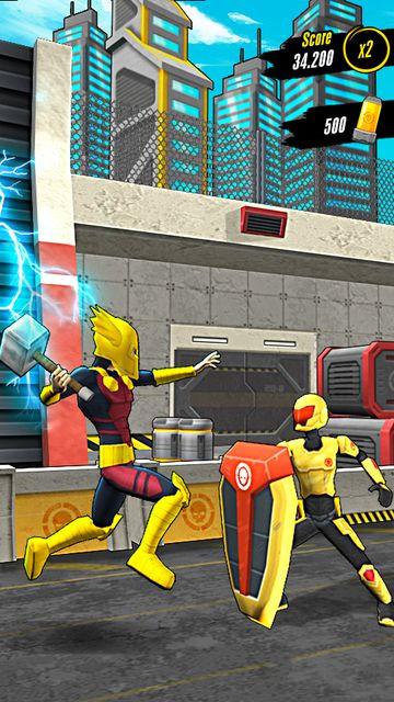 Action-Man超级英雄跑酷安卓版v1.0.1截图2