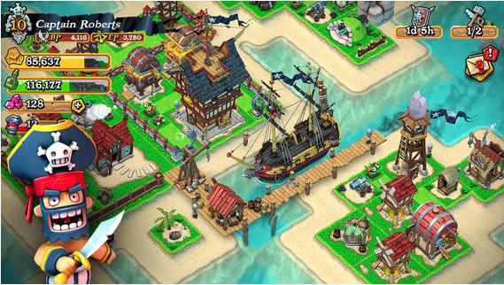 海盗掠夺Plunder Pirates免谷歌验证版v2.6.4截图2