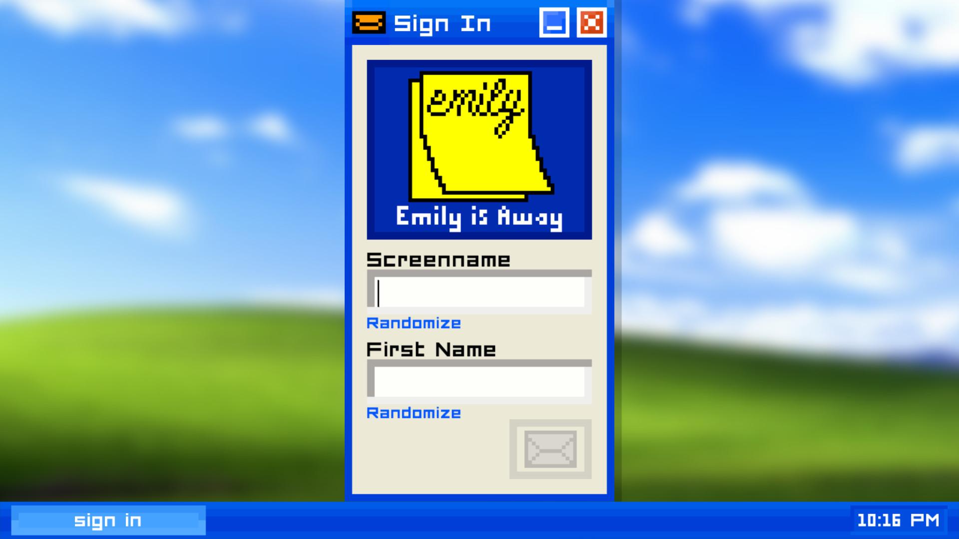 艾米莉离开了(Emily is Away)截图0