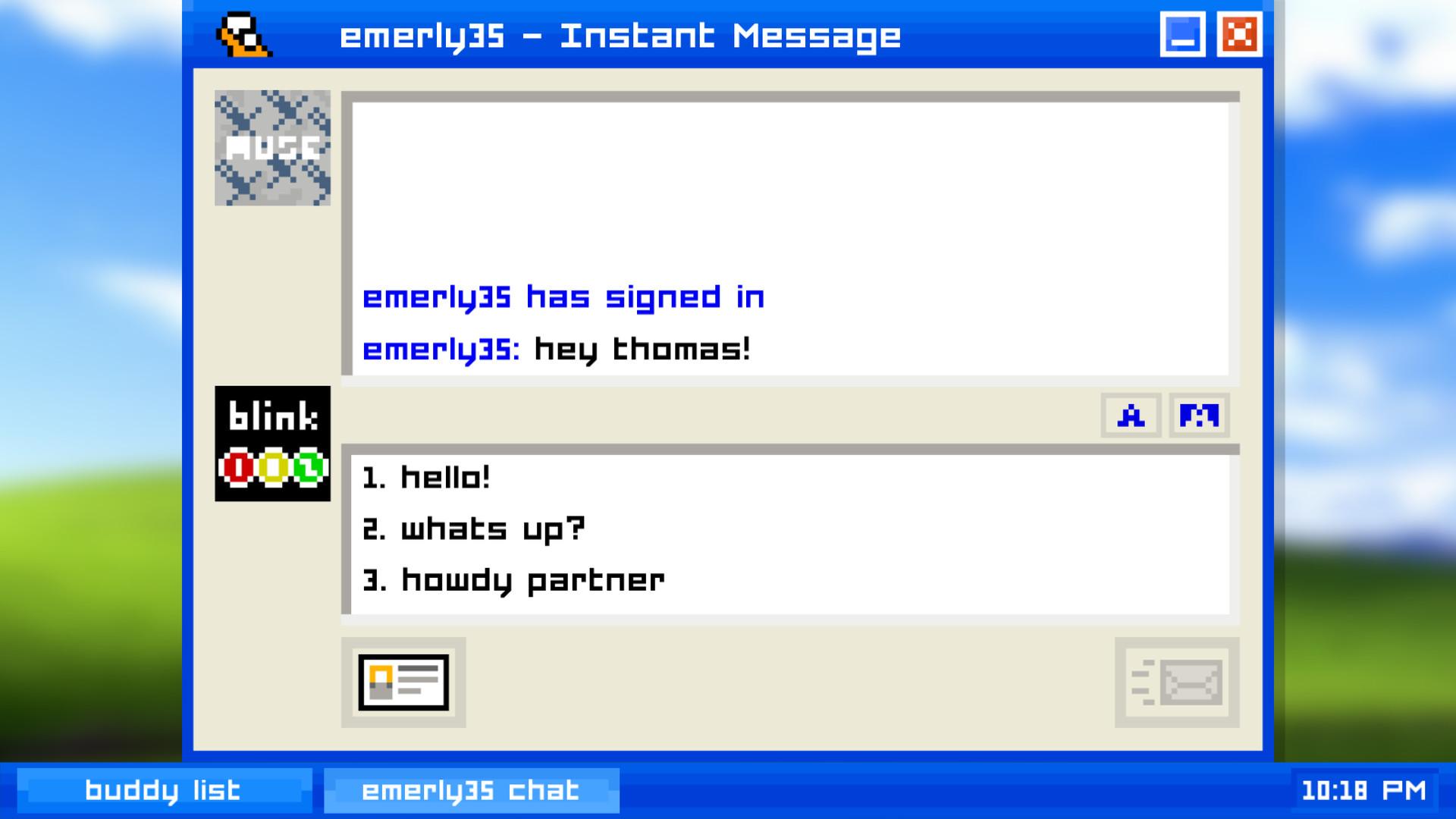 艾米莉离开了(Emily is Away)截图4