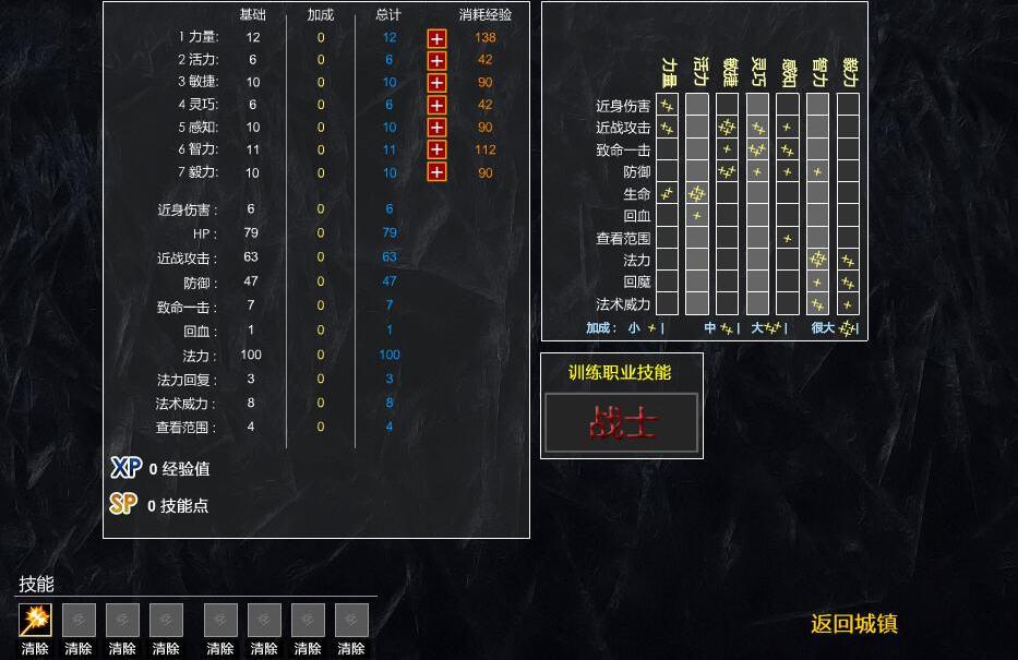 凶猛地牢简体中文汉化Flash版截图3