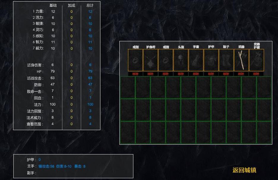 凶猛地牢简体中文汉化Flash版截图0