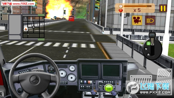 911救援消防车汉化破解版截图2