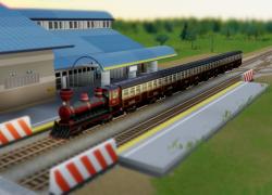 模拟城市5 蒸汽火车MOD截图0