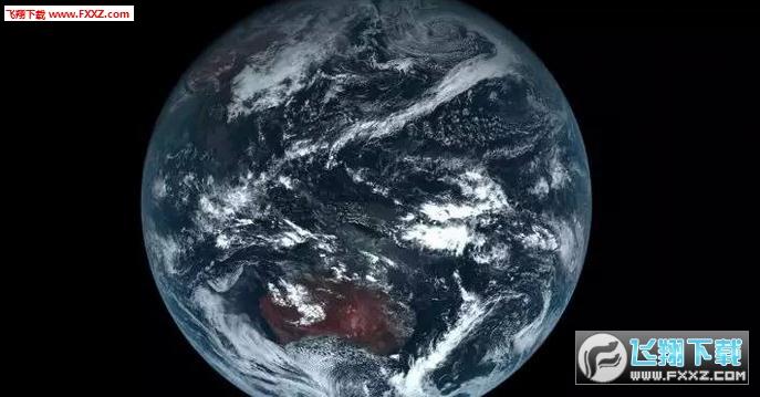 Linux实时地球桌面Himawaripy(附安装教程)截图0