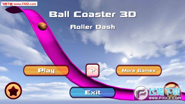 《过山球3D:滚压冲刺Ball Coaster 3D Roller Dash v1.09截图4