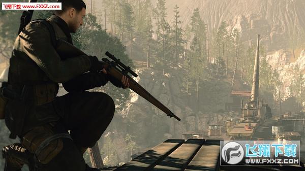 狙�艟�英4(Sniper Elite 4)截�D4