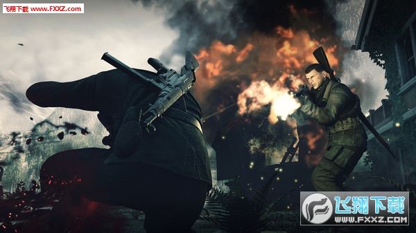狙�艟�英4(Sniper Elite 4)截�D5