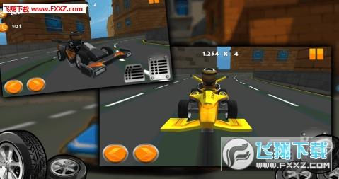 卡丁车漂移赛车3D破解版v1.0.3截图0