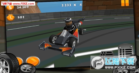 卡丁车漂移赛车3D破解版v1.0.3截图2