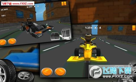 卡丁车漂移赛车3D破解版v1.0.3截图4