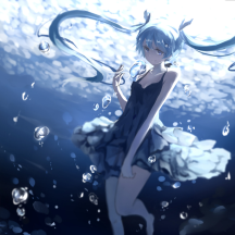 Wallpaper Engine水下初音未來動態壁紙v1.21最新免費版