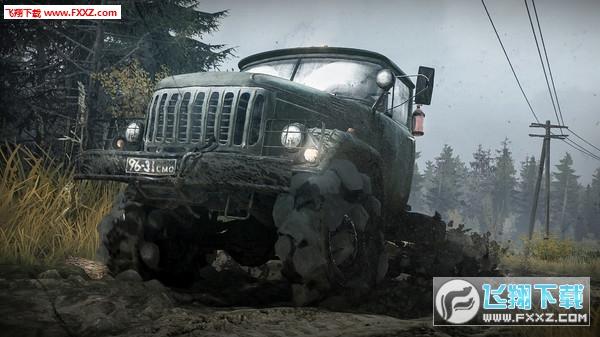 旋转轮胎:泥泞奔驰截图2