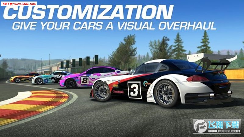 真实赛车3内购破解版最新版v5.1.0截图0