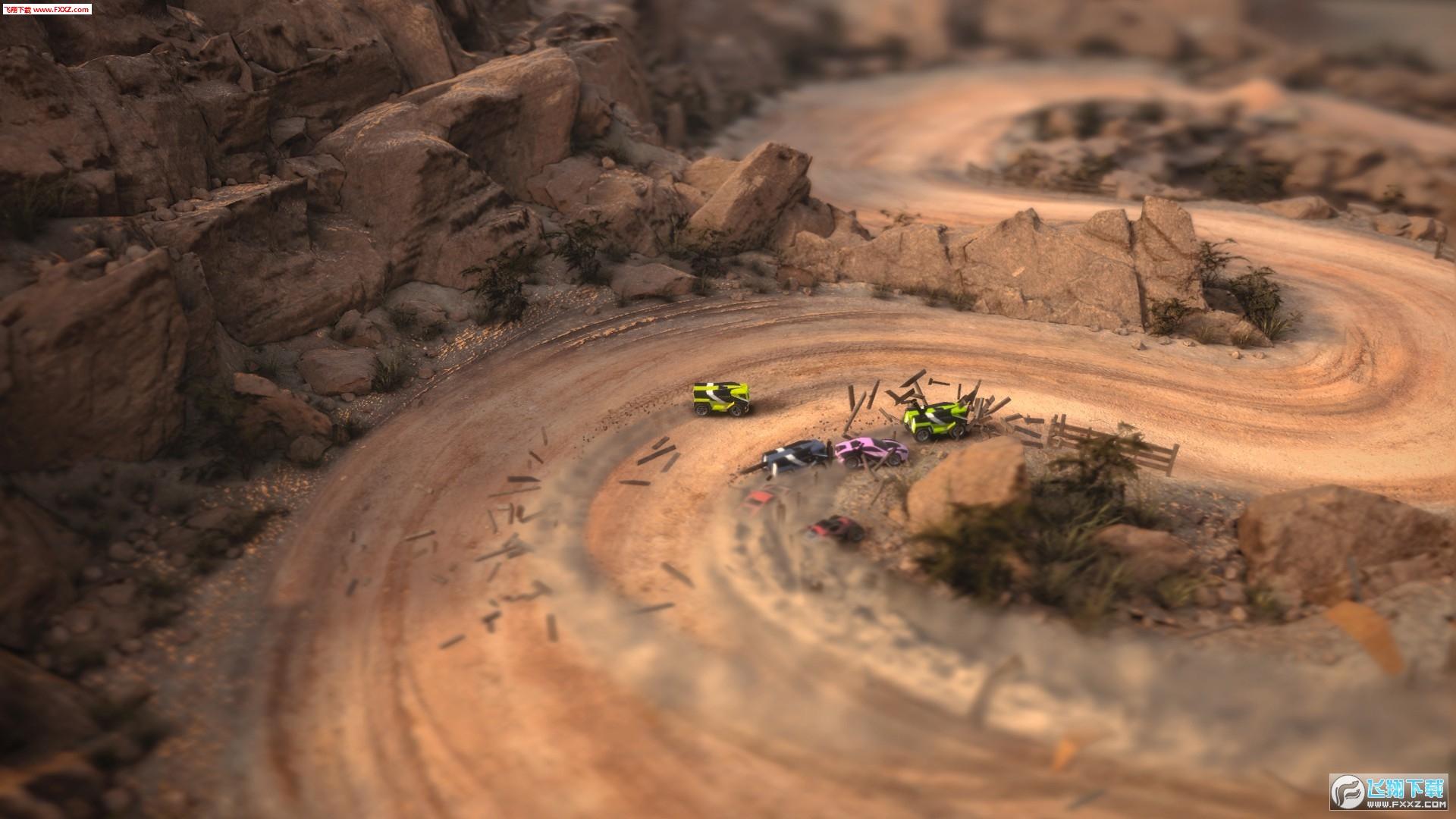 螳螂燃烧赛车截图2