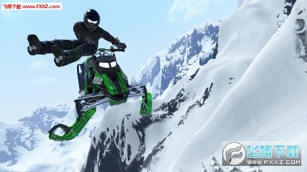雪地摩托自由竞赛截图1
