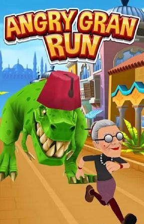 愤怒的老奶奶快跑手游无限钻石版1.49截图0