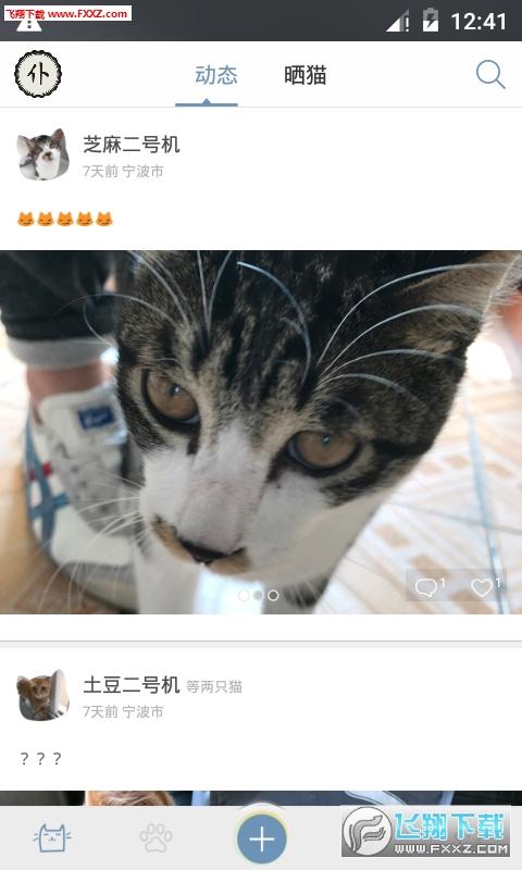 喵吾宠物社区appv2.0.7 安卓版截图0
