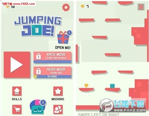 跳跃吧乔伊(Jumping Joe)手游安卓版1.0截图0