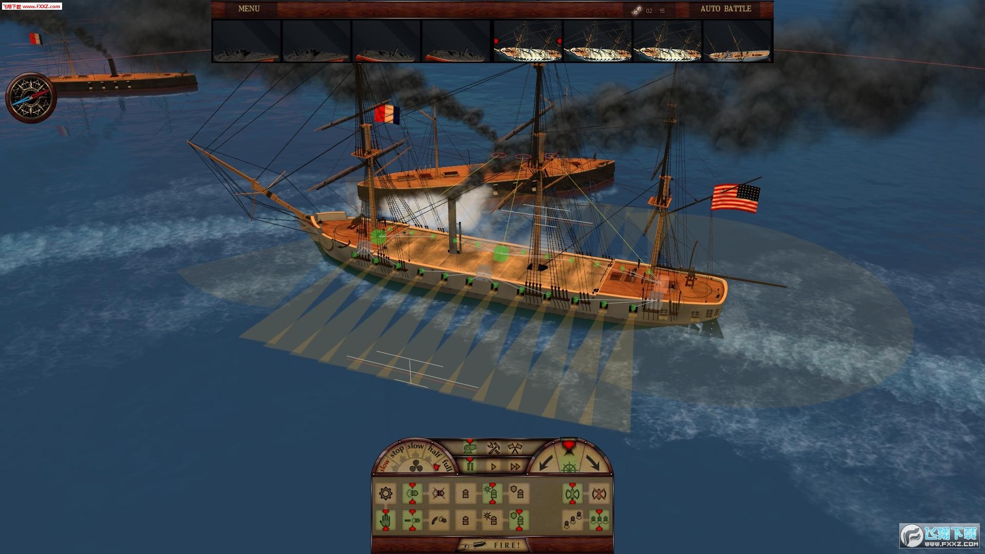 钢铁覆盖:墨西哥湾1864年截图1