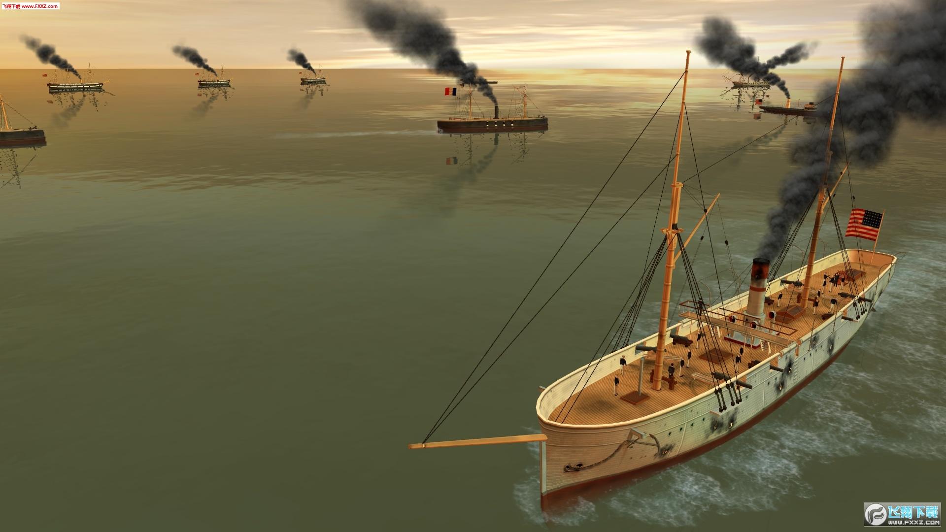 钢铁覆盖:墨西哥湾1864年截图6