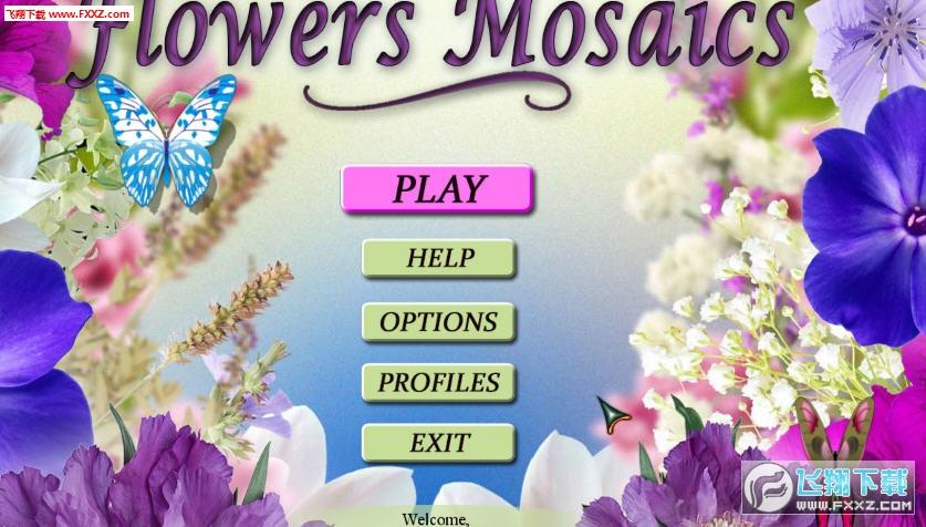 花朵马赛克截图2