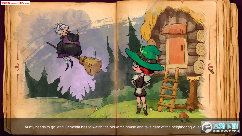 女巫学徒:神奇故事截图2