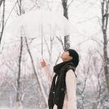 微信朋友圈下雪了说说唯美带字配图