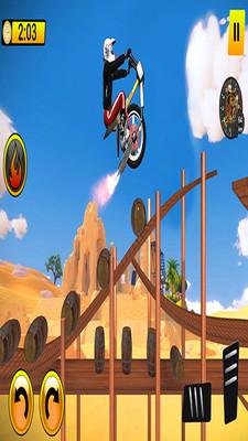 One Wheel Bike Stunts安卓版截图1