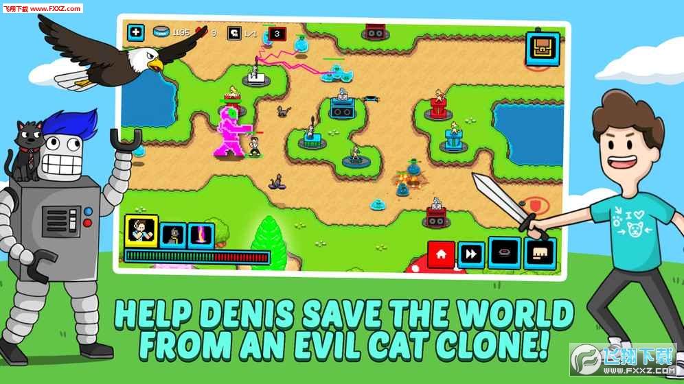 猫的塔防官方版截图1