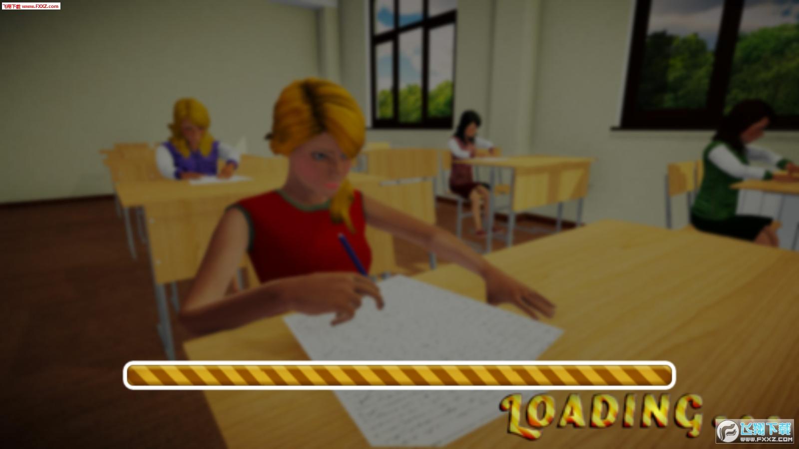 学校女孩模拟器免费版1.0.0截图1