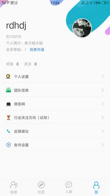彼信商业社区app截图2