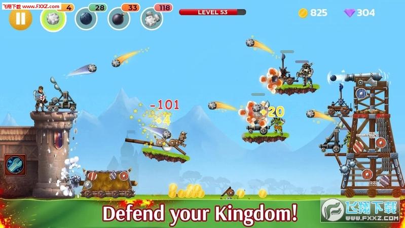 弹射战争城堡和塔防官方版