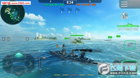 Warships Universe官方版v0.5.1截图3