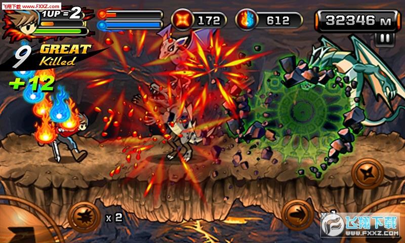 魔界忍者2火龙皇之战最新版v2.0.1截图2