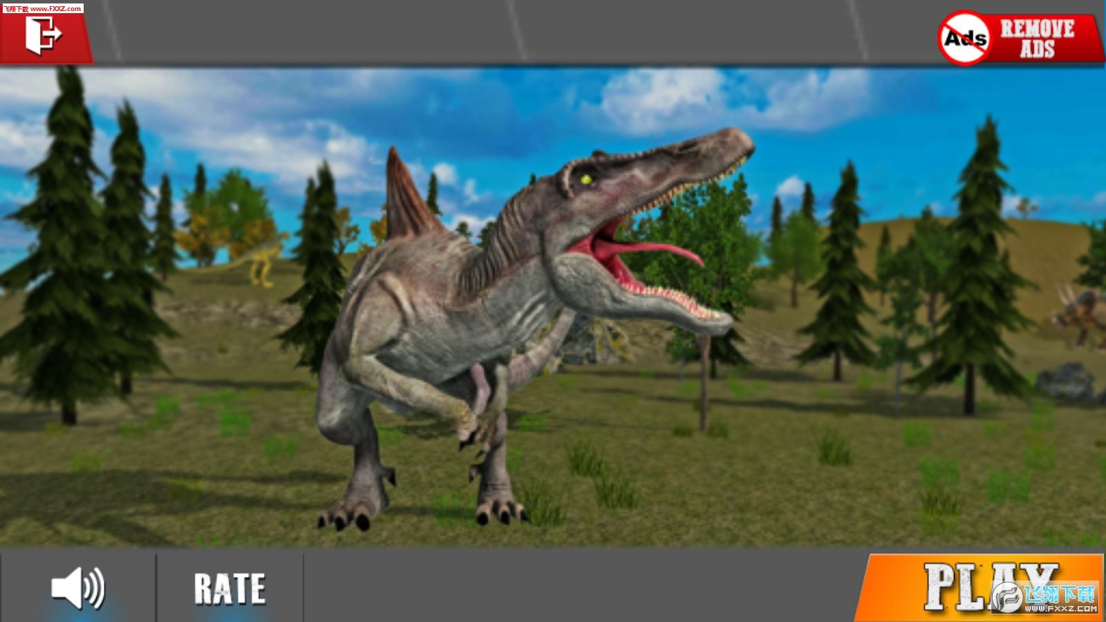 侏罗纪狩猎恐龙手游1.0截图0