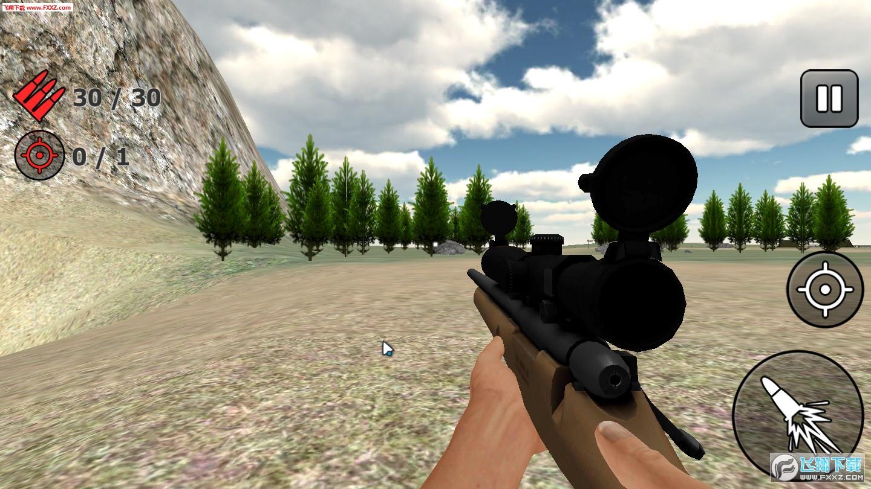 猎人狙击手3D1.01截图0