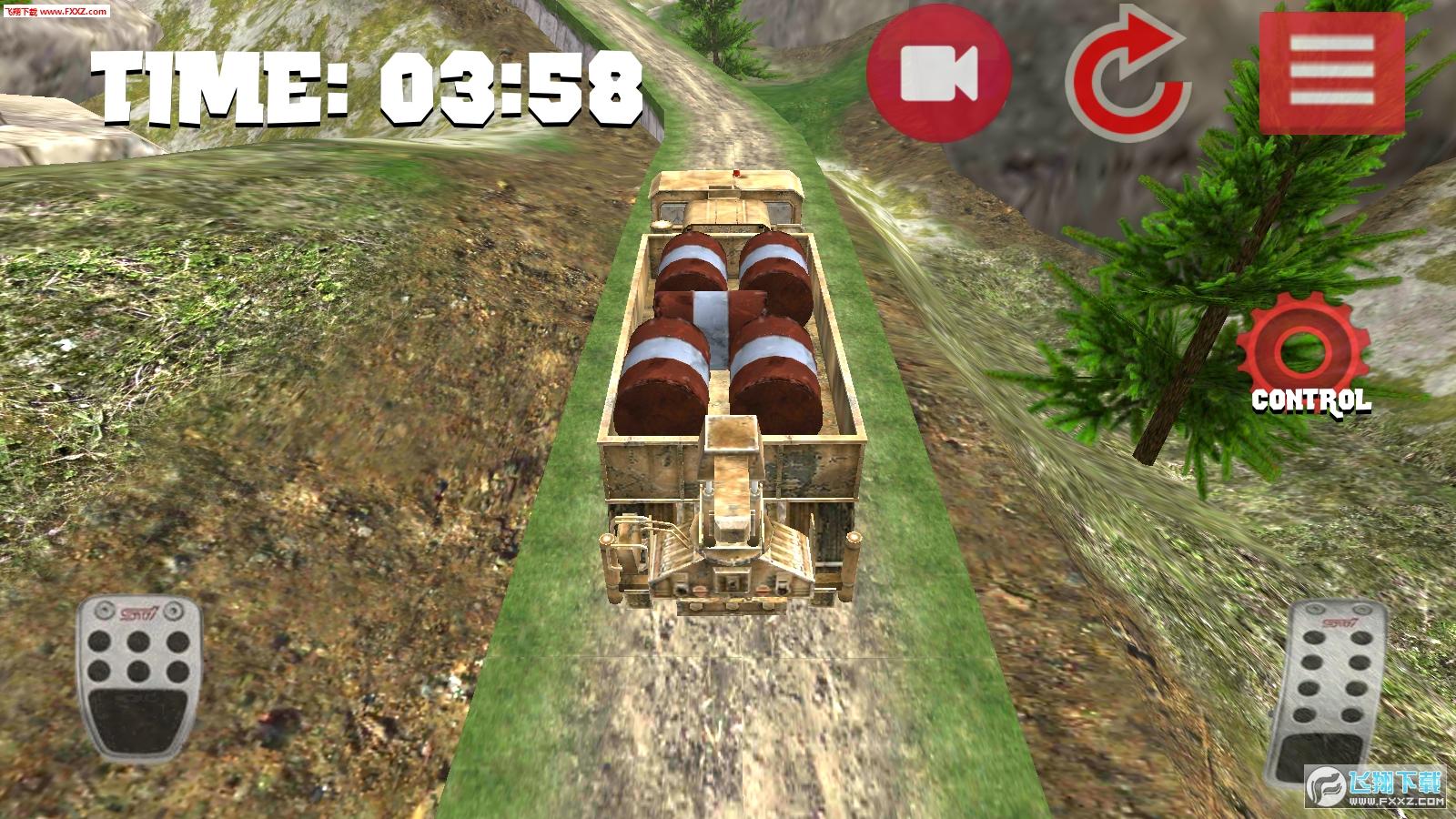 卡车越野3D免费游戏1.02截图1