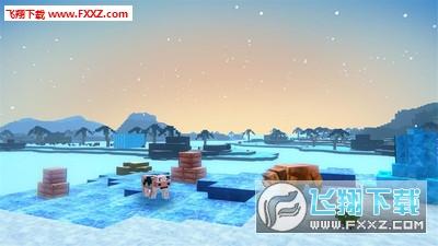 沙盒世界冬季生存官方版v1.1截图1