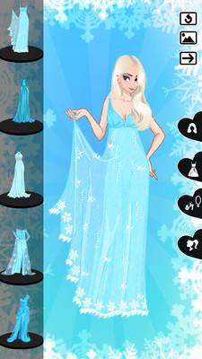 冰雪女王换装伟德娱乐v2.2截图3