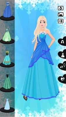 冰雪女王换装伟德娱乐v2.2截图0