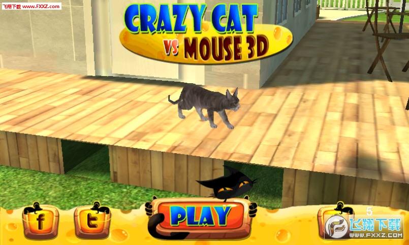 疯狂猫vs老鼠3D手机版