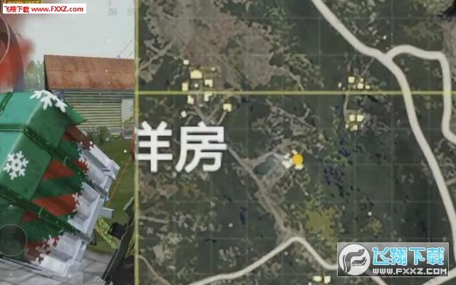 刺激战场海岛地图圣诞树在哪刷新?刺激战场圣诞树的刷新位置详解