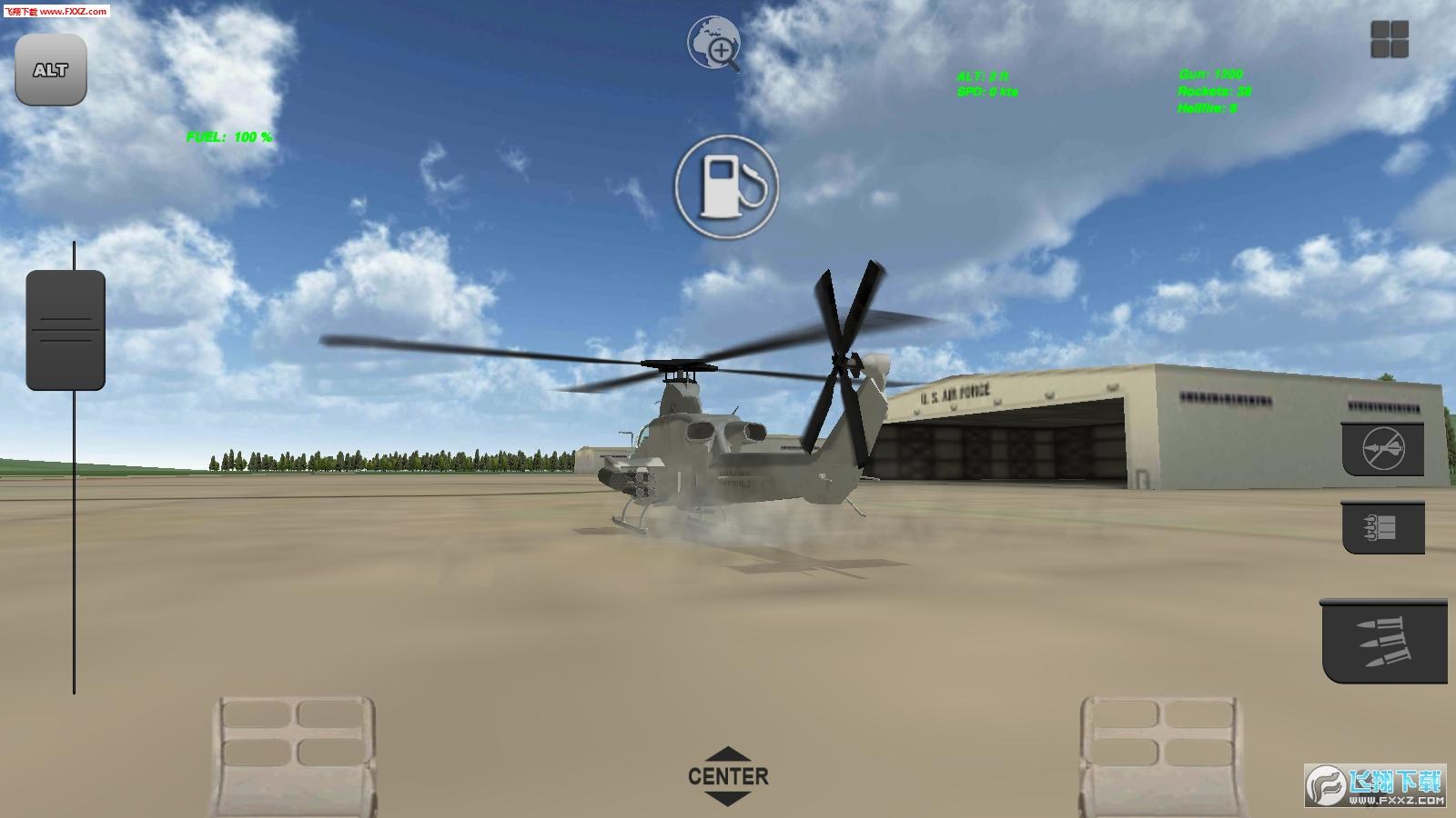 直升机飞行模拟器手游1.0.3截图0