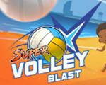 Super Volley Blast游戏超级爆裂�υE和融合�υE排球