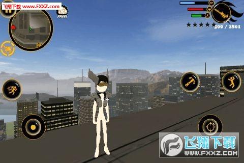 火柴人绳索英雄3安卓版v1.0截图2
