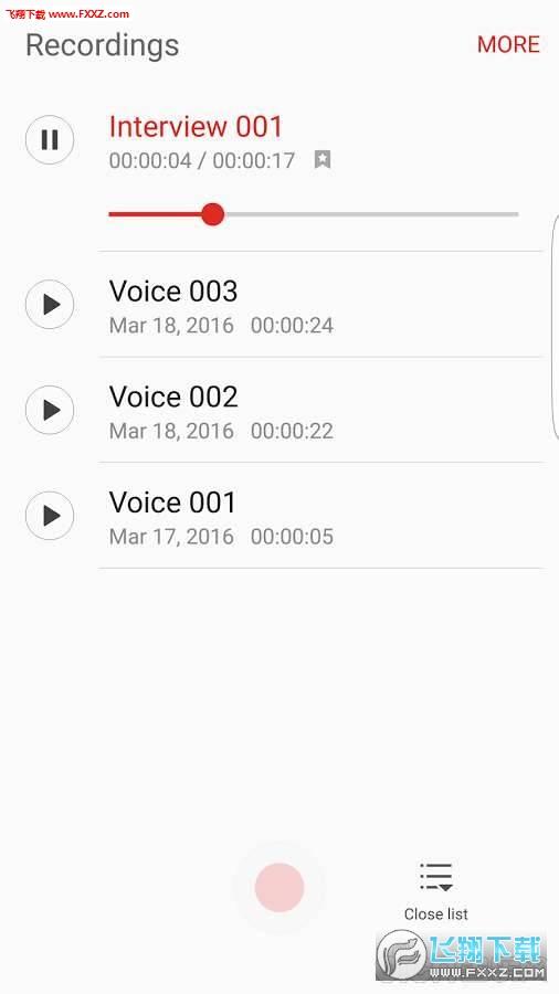 三星语音备忘录安卓版20.1.86.12截图0